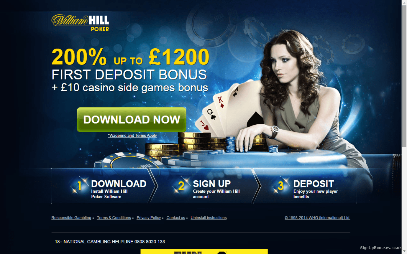 Review of William Hill Poker