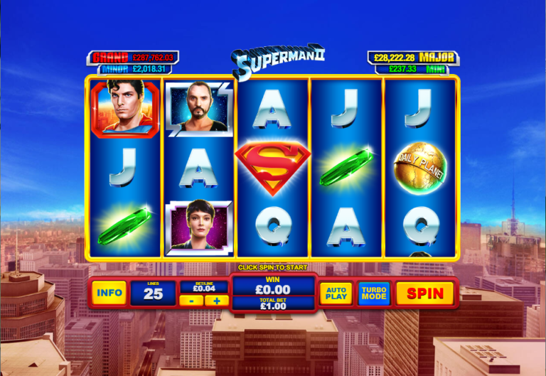 Superman Slot Review